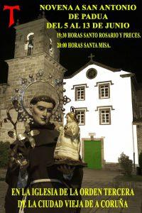 NOVENA A SAN ANTONIO DE PADUA DEL 5 AL 13 DE JUNIO