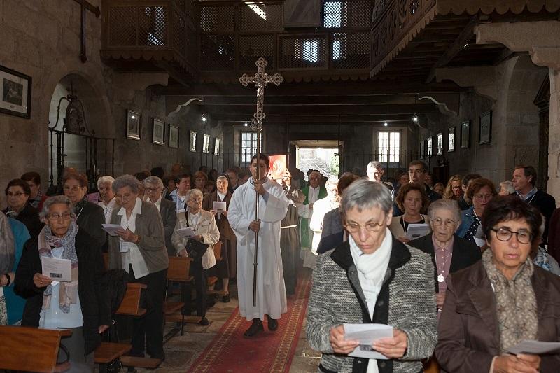 Celebración de la Eucaristía de la Interfranciscana de Galicia 2017