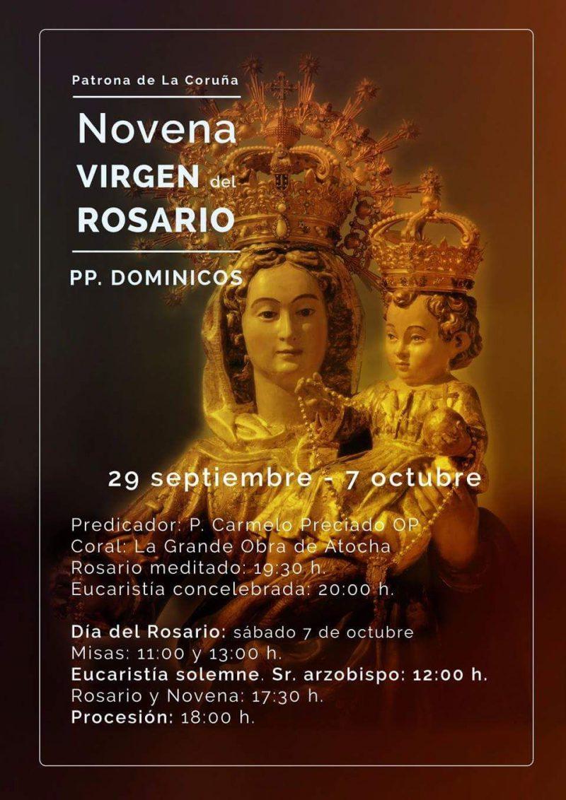 Novena Virgen del Rosario