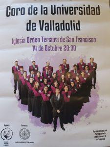 Coro de la Universidad de Valladolid 14 Octubre