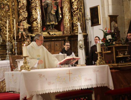 Celebración de la bendición de animales en el día de San Antonio Abad en la Orden Tercera de San Francisco