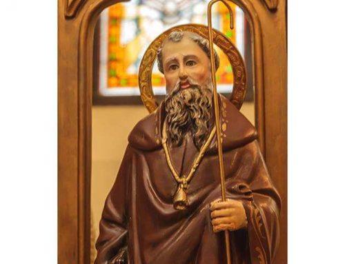 Festividad de San Antonio Abad. Misa a las 20:00 horas, 17 de Enero.