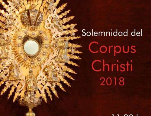 SOLEMNIDAD DEL CORPUS CHRISTI (03/06/2018)
