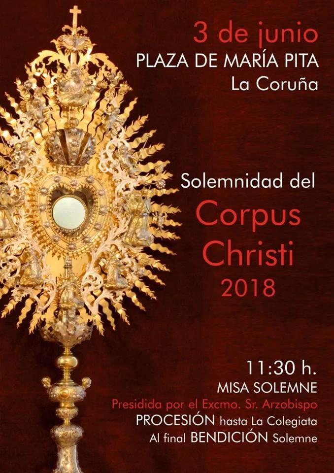 Banner Misa Solemne Corpus Christi