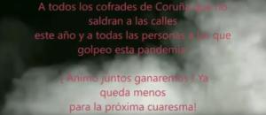 SEMANA SANTA A CORUÑA 2020