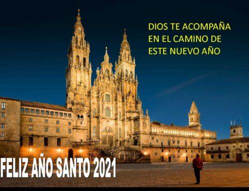 FELIZ AÑO SANTO 2021